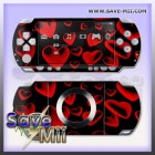 PSP2 - Decalgirl Stickers (DARK HEARTS)