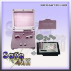 GBA SP - Vervang Behuizing (ROZE)