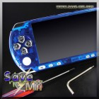 PSP3 - Faceplate (TRANSPARANT BLAUW)