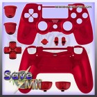 PS4 - Controller Behuizing (CHROME ROOD)