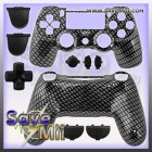 PS4 - Controller Behuizing (CARBON)