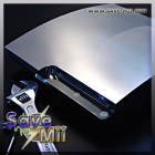 PS3 Slim - XCM Cyberchrome Behuizing